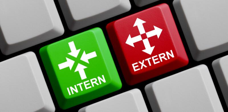 Verhouding interne en externe professionals